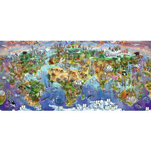 Ravensburger - 16698 - Puzzle 2000 pièces - Merveilles du monde (403986)