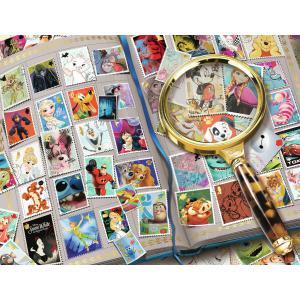 Ravensburger - 16706 - Puzzle 2000 pièces - Mes timbres préférés / Disney (403990)