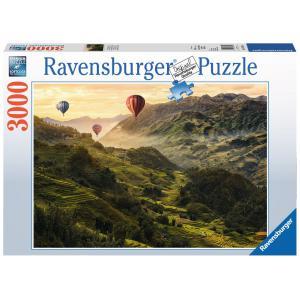 Ravensburger - 17076 - Puzzle 3000 pièces - Terrasses de riz en Asie (403994)