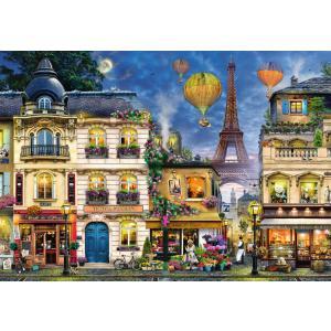 Ravensburger - 17829 - Puzzle 18000 pièces - Promenade du soir dans Paris (403996)