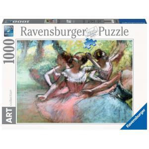 Ravensburger - 14847 - Puzzle 1000 pièces Art collection - Quatre ballerines sur la scène / Edgar Degas (404006)