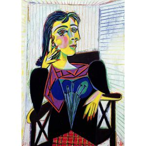 Ravensburger - 14088 - Puzzle 1000 pièces Art collection - Portrait de Dora Maar / Pablo Picasso (404008)