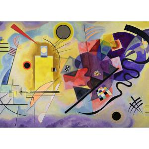 Ravensburger - 14848 - Puzzle 1000 pièces Art collection - Jaune-rouge-bleu / Vassily Kandinsky (404010)