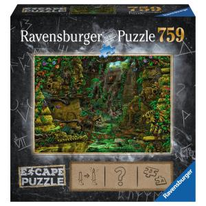 Ravensburger - 19957 - Escape puzzle - Temple Ankor Wat (404020)