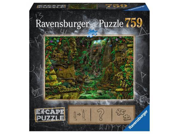 Escape puzzle 759 pièces - temple ankor wat