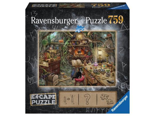 Escape puzzle 759 pièces - cuisine de sorcière