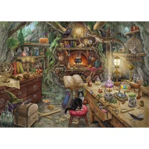 Ravensburger - 19958 - Escape puzzle - Cuisine de sorcière (404022)