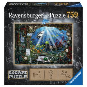 Ravensburger - 19959 - Escape puzzle  759 pièces - Sous l'eau (404024)