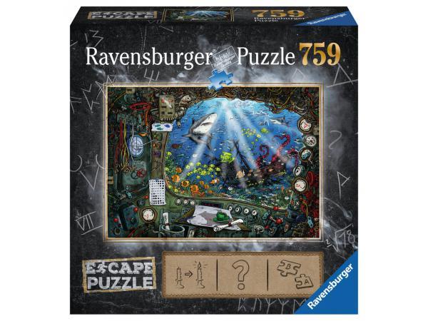 Escape puzzle 759 pièces - sous l'eau