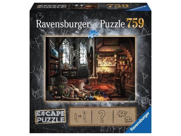 Escape puzzle 759 pièces - l'antre du dragon