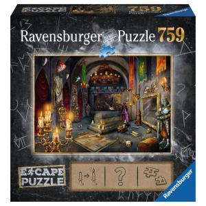Ravensburger - 19961 - Escape puzzle  759 pièces- La chambre du vampire (404028)