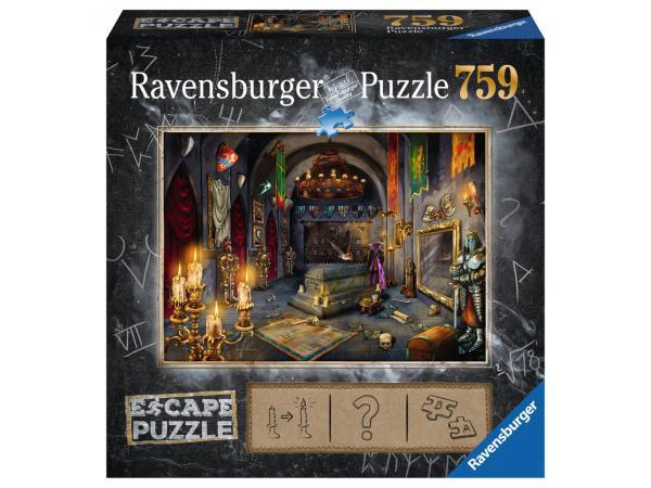 Escape puzzle 759 pièces- la chambre du vampire