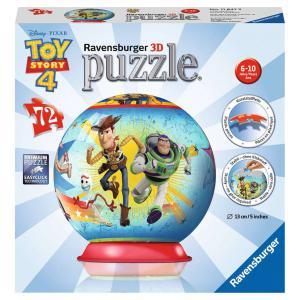 Ravensburger - 11847 - Puzzle 3D rond 72 pièces - Toy Story 4 (404038)
