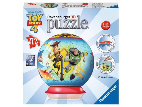 Puzzle 3d rond 72 pièces - toy story 4
