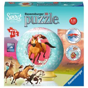 Ravensburger - 11143 - Puzzle 3D rond 72 pièces - Spirit (404042)