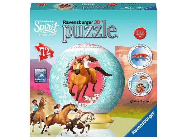 Puzzle 3d rond 72 pièces - spirit