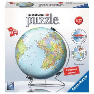 Ravensburger - 12436 - Puzzle 3D Globe 540 pièces (404050)
