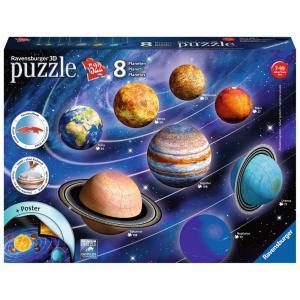 Ravensburger - 11668 - Puzzle 3D Système solaire (404052)