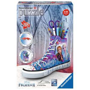 Ravensburger - 12121 - Puzzle 3D Sneaker - Disney La Reine des Neiges 2 (404054)
