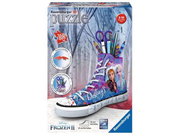 Puzzle 3d sneaker - la reine des neiges