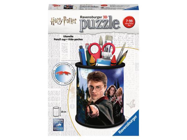 Puzzle 3d pot à crayons - harry potter