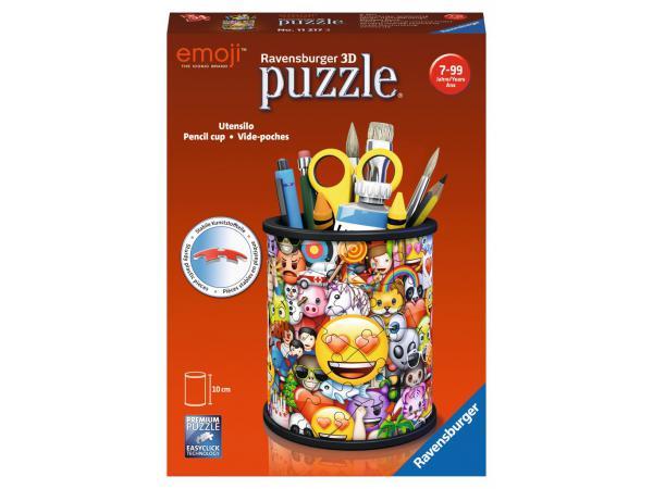 Puzzle 3d pot à crayons - emoji
