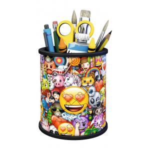 Ravensburger - 11217 - Puzzle 3D Pot à crayons - emoji (404062)