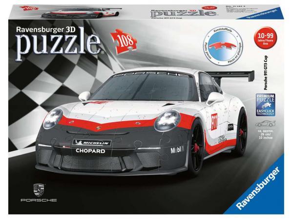 Puzzle 3d porsche 911 gt3 cup
