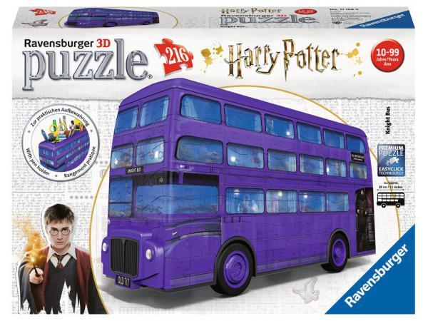 Puzzle 3d magicobus / harry potter