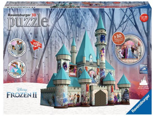 Puzzle 3d château de la reine des neiges