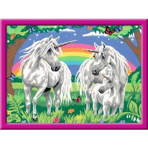 Ravensburger - 28918 - Numéro d'art - grand - Au pays des licornes (404130)