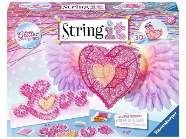 Jeux créatifs - string it maxi: 3d heart