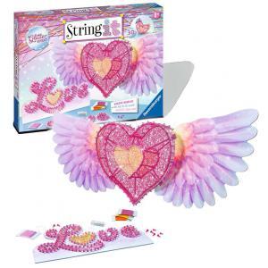Ravensburger - 18065 - Jeux créatifs - String It maxi: 3D Heart (404190)