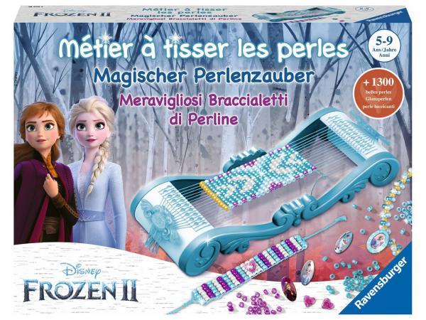 Jeux créatifs - métier à tisser la reine des neiges