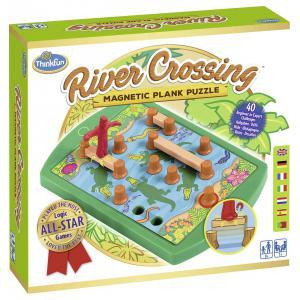 Ravensburger - 76349 - Jeux de société famille - ThinkFun -River Crossing (404270)