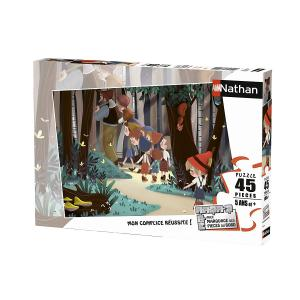 Nathan puzzles - 86540 - Puzzle 45 pièces - Le Petit Poucet (404294)