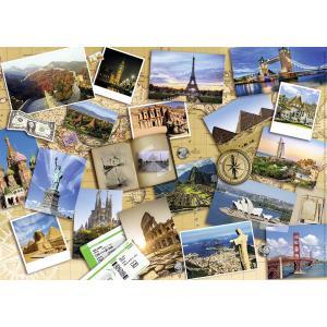 Nathan puzzles - 87623 - Puzzle N 1000 pièces - Monuments du monde (404334)