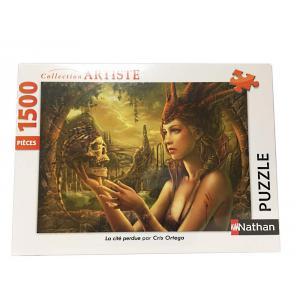 Nathan puzzles - 87795 - Puzzle N 1500 pièces - La cité perdue / Cris Ortega (404348)