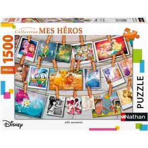 Disney - 87798 - Puzzle N 1500 pièces - Jolis souvenirs / Disney (404354)