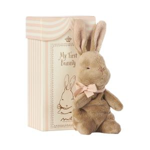 Maileg - 16-7930-00 - My First Bunny in Box, Rose (405548)