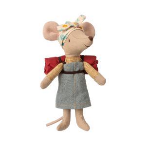 Maileg - 16-9730-00 - Hiking mouse, Big sister (405672)