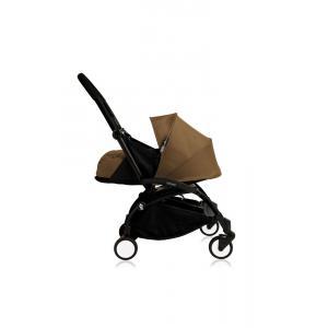 Babyzen - Bu102 - Poussette Yoyo+ cadre noir pack naissance Toffee (405734)