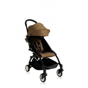 Babyzen - Bu106 - Poussette Yoyo+ cadre noir pack couleur 6+ Toffee (405742)
