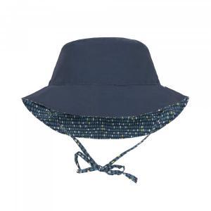 Lassig - 1433005450-12 - Chapeau de soleil réversible à pois garçons (406352)