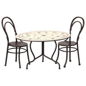 Maileg - 11-9101-00 - Dining table set, Mini (406456)