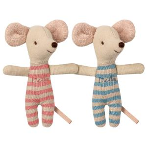Maileg - 16-9712-01 - Baby mice, twins in box (406502)