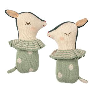Bambi - 16-9910-01 - Bambi rattle - Dusty mint (406564)