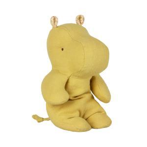 Maileg - 16-9925-00 - Peluche Safari friends, Petit Hippo - jaune citron -  22 cm (406576)