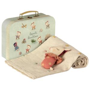 Maileg - 19-9320-00 - Baby gift set - Rose - Taille 8 cm - de 0 à 36 mois (406612)