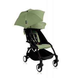 Babyzen - Bu143 - Poussette YOYO+ 6+ (cadre noir) Peppermint et son ombrelle (406674)